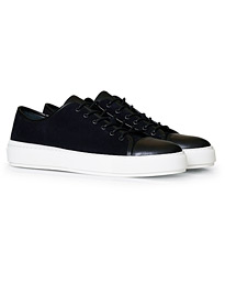 Tiger of Sweden Sampe Toe Cap Sneaker Navy