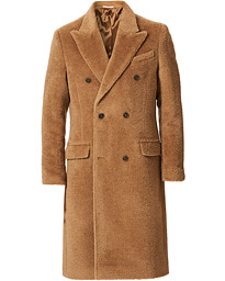 Tiger of Sweden Coltron Woven Wool Coat Mink