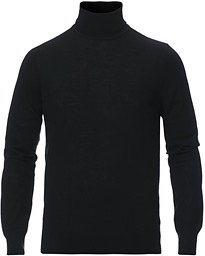 Tiger of Sweden Neville Extra Fine Merino Polo Black