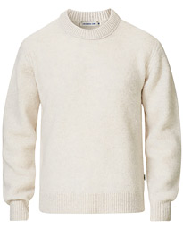 Prowler Knitted Crew Neck White