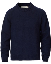 Prowler Knitted Crew Neck Blue