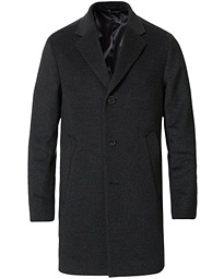 Storvik Wool/Cashmere Coat Grey