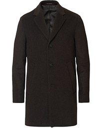 Storvik Wool/Cashmere Coat Brown