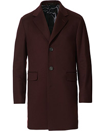 Sonny Loro Piana Wool Coat Burgundy
