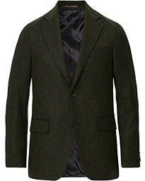 Oscar Jacobson Fogerty Yorkshire Tweed By Moon Blazer Green