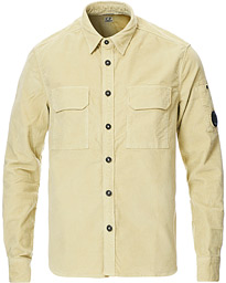 C.P. Company Corduroy Lens Overshirt Light Green