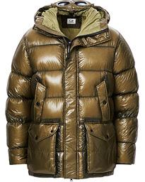C.P. Company DD Shell Puffer Jacket Olive hos