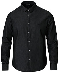 Emporio Armani Denim Shirt Black