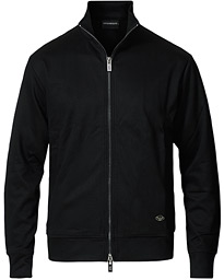 Full Zip Sweater Black