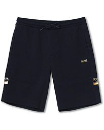 Headlo Sweatshorts Navy/Gold