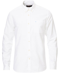 Aldwin Brushed Oxford Button Down Shirt White