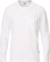 NN07 Pima Long Sleeve Tee White