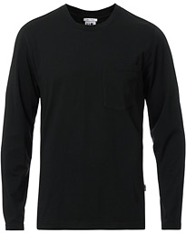 NN07 Pima Long Sleeve Tee Black