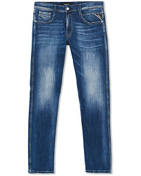 Replay Anbass Superstretch Jeans Medium Blue