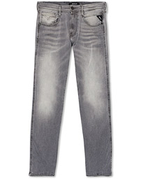Replay Anbass Hyperflex Bio Jeans  Washed Grey