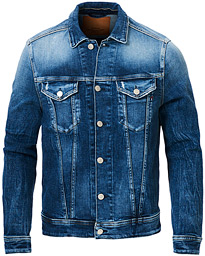 5 Years Aged Denim Jacket Light Blue