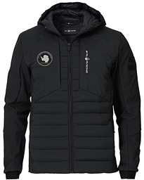 Antartica Hybrid Hooded Jacket Carbon