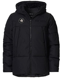 Artic Down Hooded Jacket Carbon