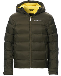Gravity Down Hooded Jacket Forest Green