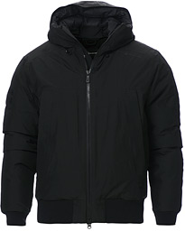 Black Ice Gore-Tex Hooded Jacket Carbon