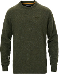 Barbour Lifestyle Tisbury Wool Crew Neck Forest