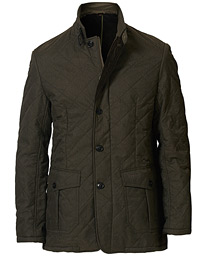Barbour Lifestyle Relond Quilted Polar Fleece Jacket Olive