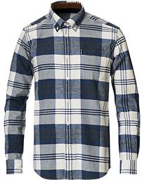 Barbour Lifestyle Highland Flannel Check Shirt Blue Marl