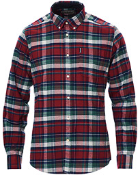 Barbour Lifestyle Highland Flannel Check Shirt Red