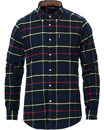 Highland Flannel Check Shirt Navy