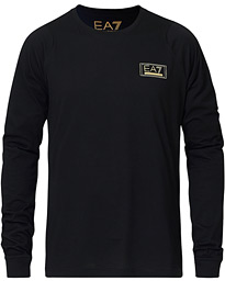 Train Gold Label Long Sleeve Tee Black