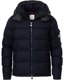 Moncler Montgenevre Flannel Down Jacket Navy