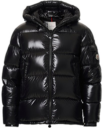 Moncler Ecrins Gloss Down Jacket Black
