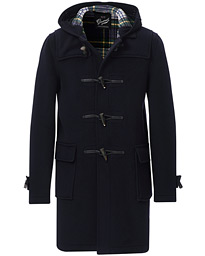 Morris Duffle Coat Navy/Dress Gordon