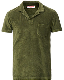 Orlebar Brown Terry Polo Olive