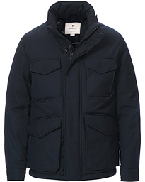 Luxe Field Jacket Melton Blue