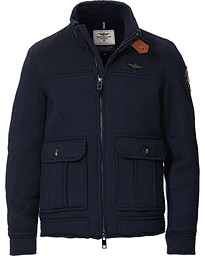 Flight Jacket Blu Navy