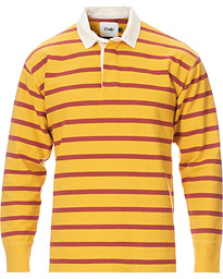 Long Sleeve Rugby Strype Yellow/Red