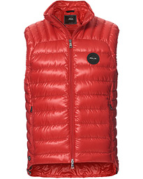 Lightweight Down Vest Classic Red
