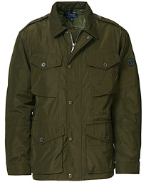 Patch Pocket Field Jacket Olive