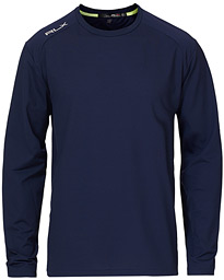 Tech Long Sleeve Crew Neck Navy