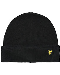 Racket Rib Beanie True Black