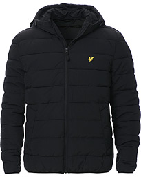 Lightweight Puffer Jacket Jet Black
