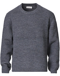 Puffin Wool Merino Crew Neck Grey