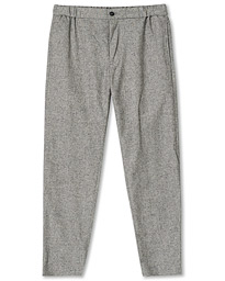Lex Wool Texture Trousers Grey Combo