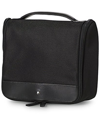 Wash Bag With Hanger Black