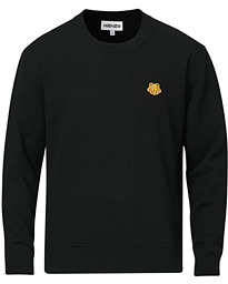 Crest Classic Knitted Crew Neck Black