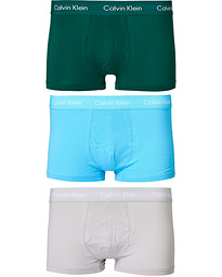 Cotton Stretch Low Rise Trunk 3-Pack Jada Sea/Sky High/Silver