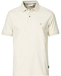 Slim Fit Liquid Touch Polo Bleached Stone Heather