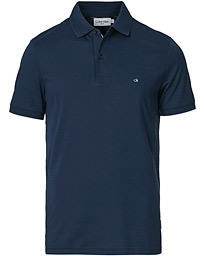 Slim Fit Liquid Touch Polo Navy