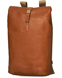 Pickwick Large Leather Backpack Honey